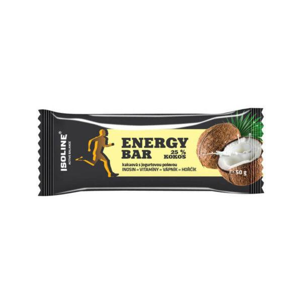 kokosová tyčinka s jogurtovou polevou
