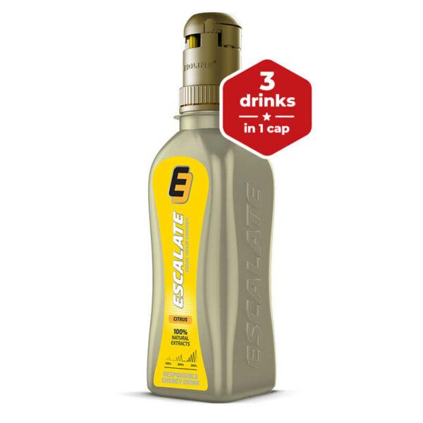 energetický nápoj ESCALATE 375 ml citrus