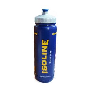 plastová modrá sportovní láhev o objemu 1 l
