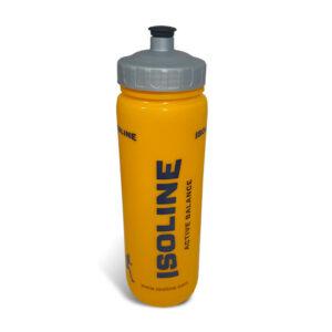 plastová žlutá sportovní láhev o objemu 1 l