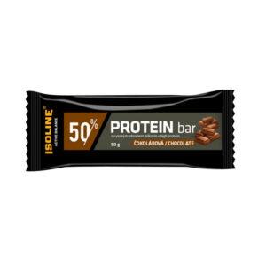 proteinová tyčinka v čokoládě