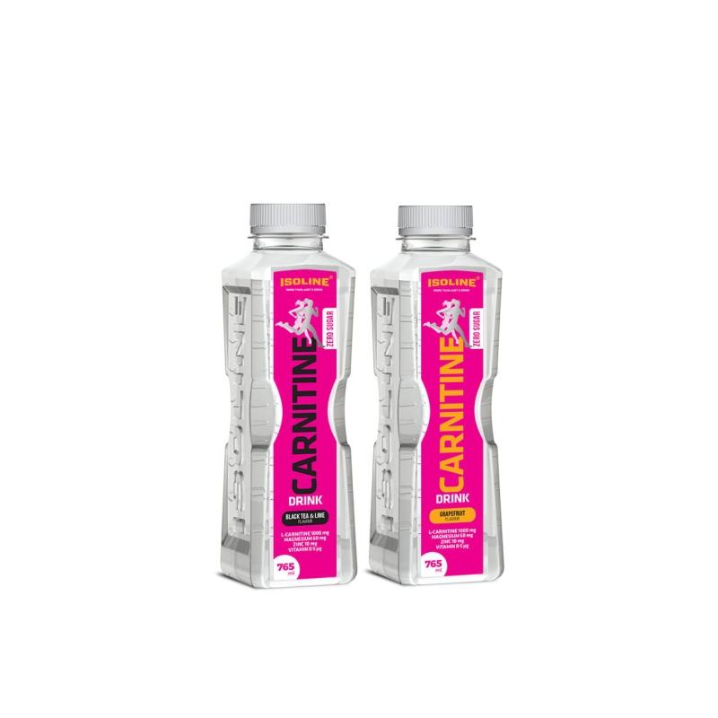 nápoj s L-karnitinem, hořčíkem, zinkem a vitaminem D